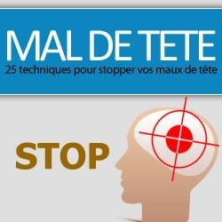 Stop au mal de tête