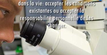 accepter la responsabilité de changer sa vie