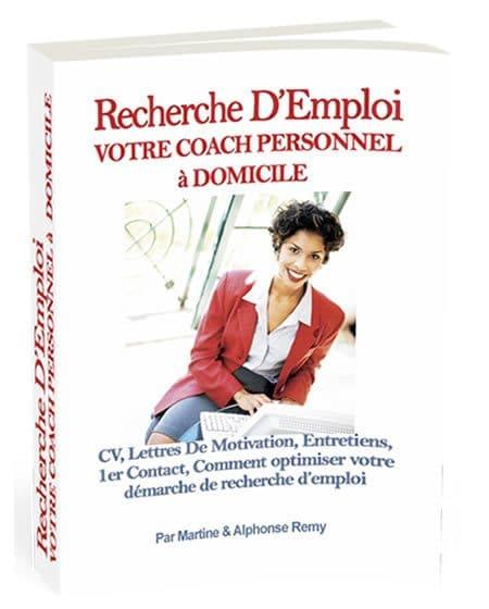 Recherche Emploi, votre coach personnel à domicile